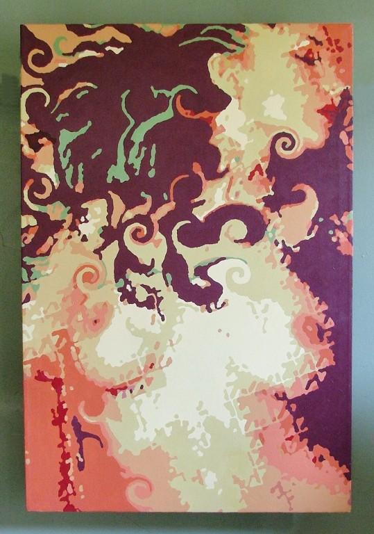 """Ivy"" (acrylic on canvas)"